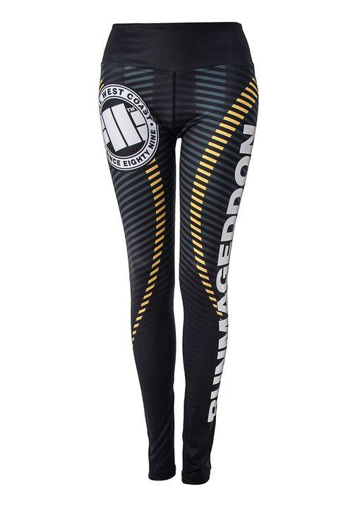 Legginsy sportowe damskie Stripes RMG