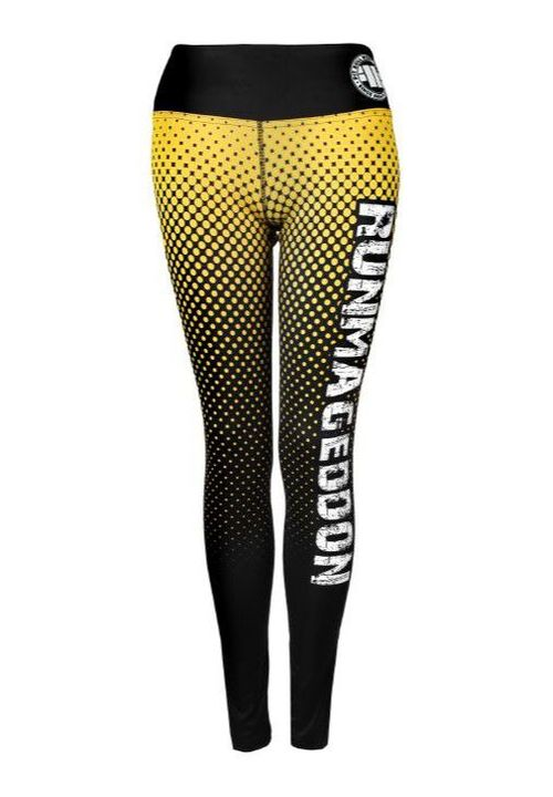 Legginsy sportowe damskie Halftone RMG