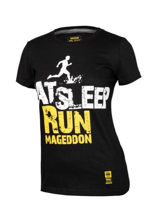 Koszulka damska Eat Sleep Run RMG