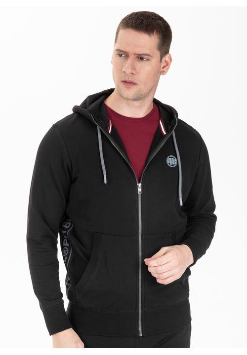 Bluza rozpinana z kapturem French Terry Small Logo