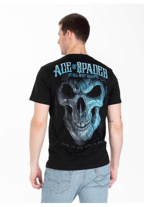 Koszulka Blue Skull