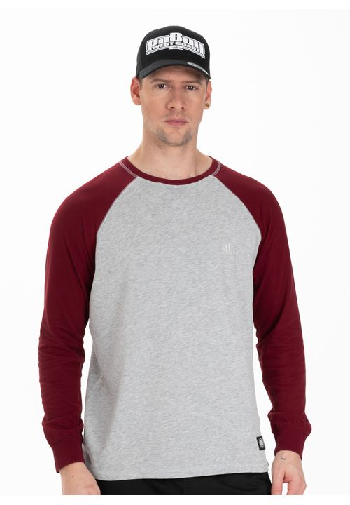 Longsleeve Garment Washed Raglan Small Logo